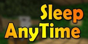 Мод Sleep Anytime для Minecraft 1.5.2