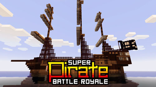 Карта на выживание Pirate Battle Royale для Minecraft